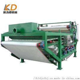 全自动污泥干排机工艺 强力压榨泥浆浓缩脱水一体机