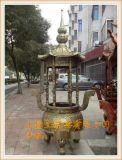 圆形香炉 铸铁寺庙圆形香炉厂家