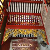 龙王祖庙铝窗花 德普龙铝窗花 古代铝窗花
