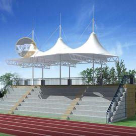 学校演出表演膜结构舞台设计户外美观膜结构舞台安装