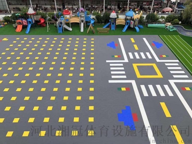 彈性軟墊拼裝地板施工安裝拼裝地板廠家