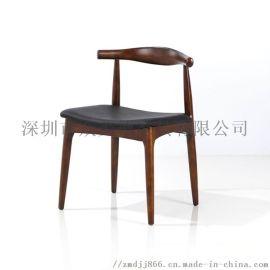 餐厅椅子实木餐椅定做木制餐椅工厂西餐厅餐椅中式餐椅