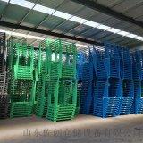 仓储货架中型防锈巧固架铁质堆垛架承重货架 叉车使用