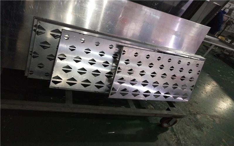 万达影城吸音透光穿孔铝单板 3D方孔铝单板