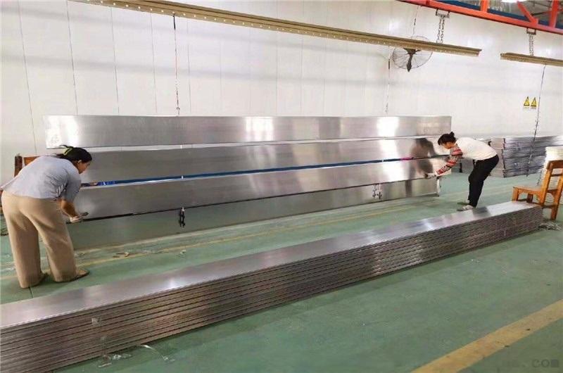 s型加油站高邊防風鋁條扣 s型防火吸音鋁條板