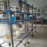 回收二手50L玻璃反应釜 实验室用二手玻璃反应釜