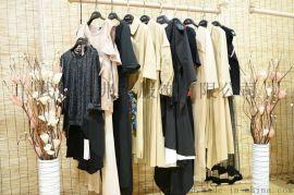 走份品牌折扣女装阿珍妮19年春装新款女式风衣外套