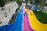 水上乐园游乐设备波浪彩虹滑梯玻璃钢定制产品质量保证
