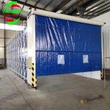 定做环保伸缩房 移动伸缩喷漆房厂家 伸缩型喷漆房