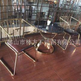 不锈钢桌腿支架 金属异形茶几架 拼接焊接加工