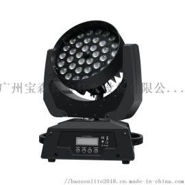 宝森灯光|36颗10W LED染色调焦摇头灯