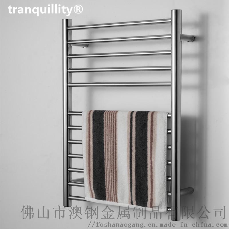 12杆圆管不锈钢电热毛巾架 外贸酒店专用毛巾架