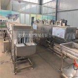 福建过滤式鸡笼清洗机 全自动鸡笼洗筐机
