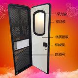 防盜防蚊蟲房車門 隔熱鋁合金材料房車門窗 鋼化玻璃房車改裝件