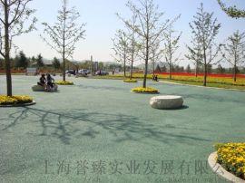 重庆武汉彩色透水地坪