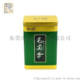 批量生产 咖啡罐 方形马口铁茶叶罐 铁罐 通用铁罐