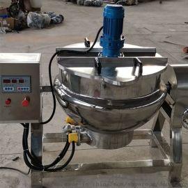 电加热夹层锅 辣椒酱自动熬制机