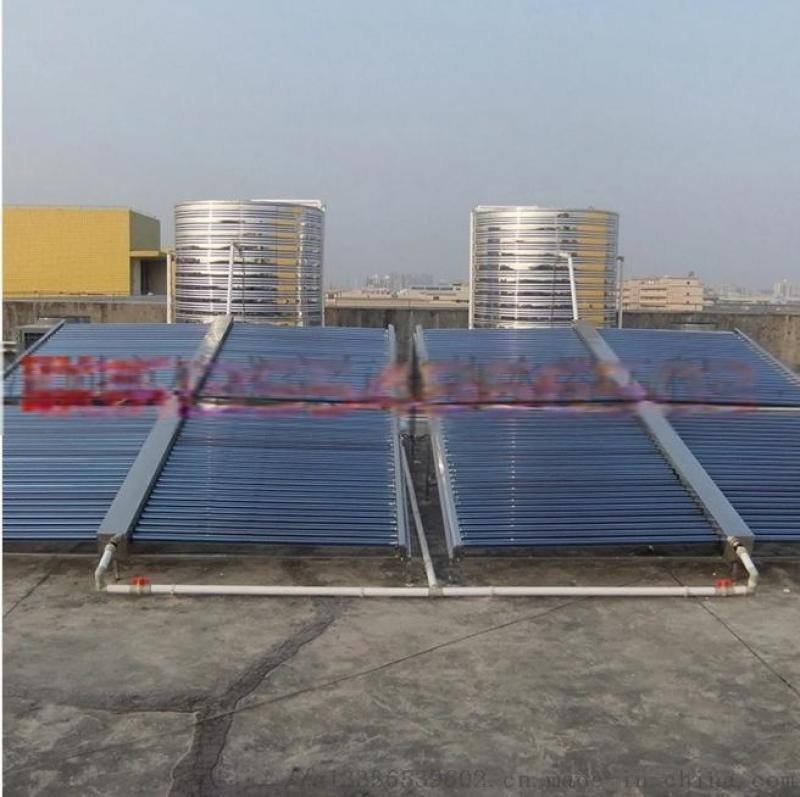 坪山新区太阳能楼顶做热水工程