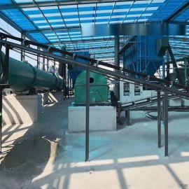气运供应导轨式翻抛机 发酵床翻耙机有机肥设备 猪粪翻抛机有机肥生产线