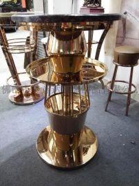 金属茶几 创意不锈钢茶几 餐台厂家定做