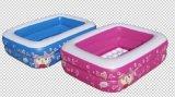 BBL(9000)PVC充气120cm兔子两环方形游泳池