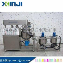 鑫基机械XJR100L真空乳化机组,高剪切真空均质乳化机