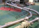 饲料管链输送机|管链输送装置多点出料口
