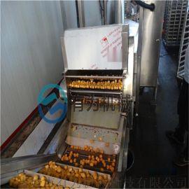 生产鱼豆腐的设备,鱼豆腐油炸机子,炸鱼豆腐机器