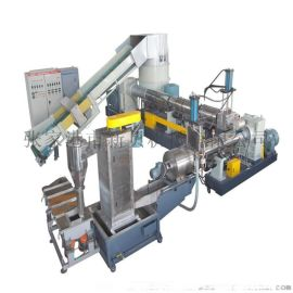 薄膜、大棚膜撕碎清洗造粒机、编织袋造粒机