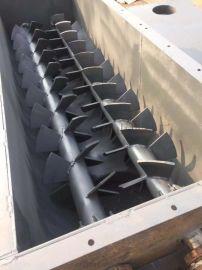 操作简单高效节能双轴加湿搅拌机 卧式双轴粉尘加湿机