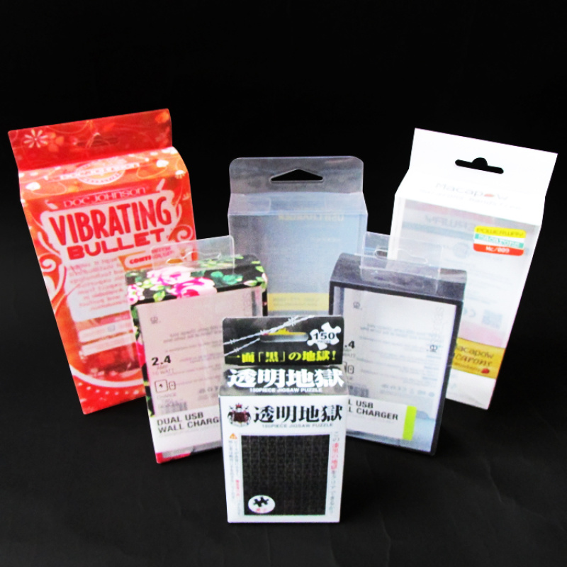 牛湖宝湖透明pet折盒 胶盒厂家