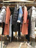 品牌女裝進貨依百特18年冬裝新款羽絨服大衣