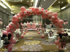 昆明花語花香婚禮氣球布置婚房氣球裝飾