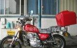 摩托車尾箱
