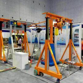 简易龙门吊1235吨龙门架吊移动小型龙门架升降式龙门架起重手推架