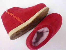 暖洋洋手工棉鞋