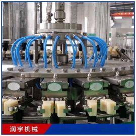 润宇厂家定制含气饮料灌装生产线 全自动饮料灌装设备 饮料灌装机