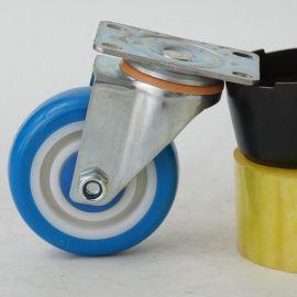 3寸 4寸5寸聚禄万向轻型脚轮 静音耐磨万向脚轮 静音轱辘轮子批发