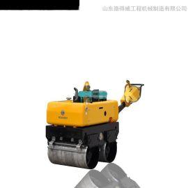法国重载型变量柱塞泵美国摆线液压马达驱动变速行走液压转向电磁离合振动重量900kgRWYL34BS手扶压路机*价格可议