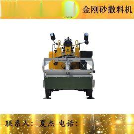 撒料机,路得威RWSL11涡轮增压柴油发动机高精度加工布料辊撒料均匀金钢砂,金刚砂,金刚砂撒料机,金钢砂撒料机,