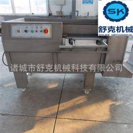 供应早餐包肉丁机 大型自动冻肉切丁机550型 现货销售价格实惠