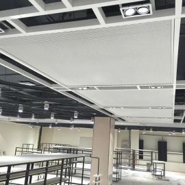 装饰铝板网 铝板吊顶网 安平铝板网