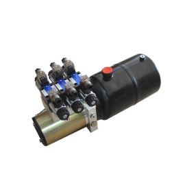 DC24V2.2KW-8L-3组电磁阀液压动力单元