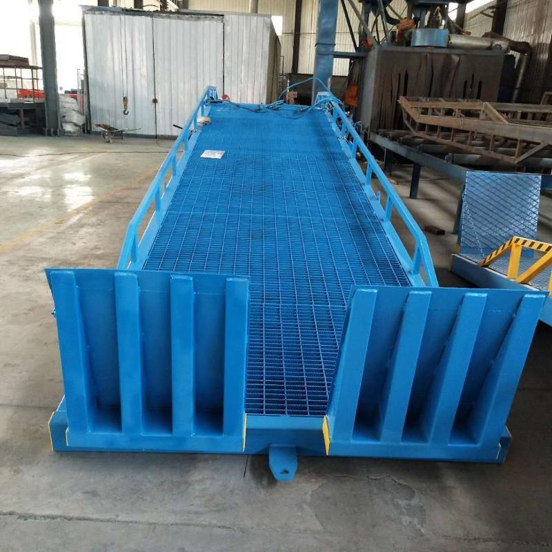 定做仓库集装箱装卸货平台 固定式液压登车桥 移动式登车桥