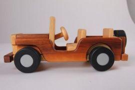木质益智儿童玩具车