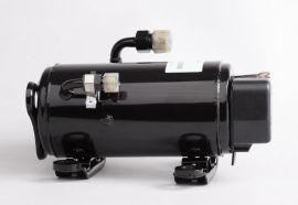 HC135DC24H直流DC24V车船用空调压缩机卧式变频压缩机1850W制冷量