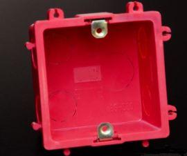 供应盛世和家86HS50彩色拼装暗盒 接线盒 国标** 厂价直供