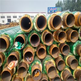 宜春 鑫龙日升 城市供暖预制地埋高密度聚氨酯保温管道DN25/32聚氨酯保温无缝管