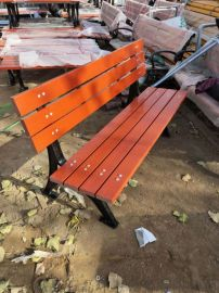 公园圆椅 长椅 靠背椅 休闲椅 防腐木 支持定制