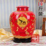 5斤裝陶瓷酒罈,10斤裝陶瓷酒罈,30斤陶瓷酒罈